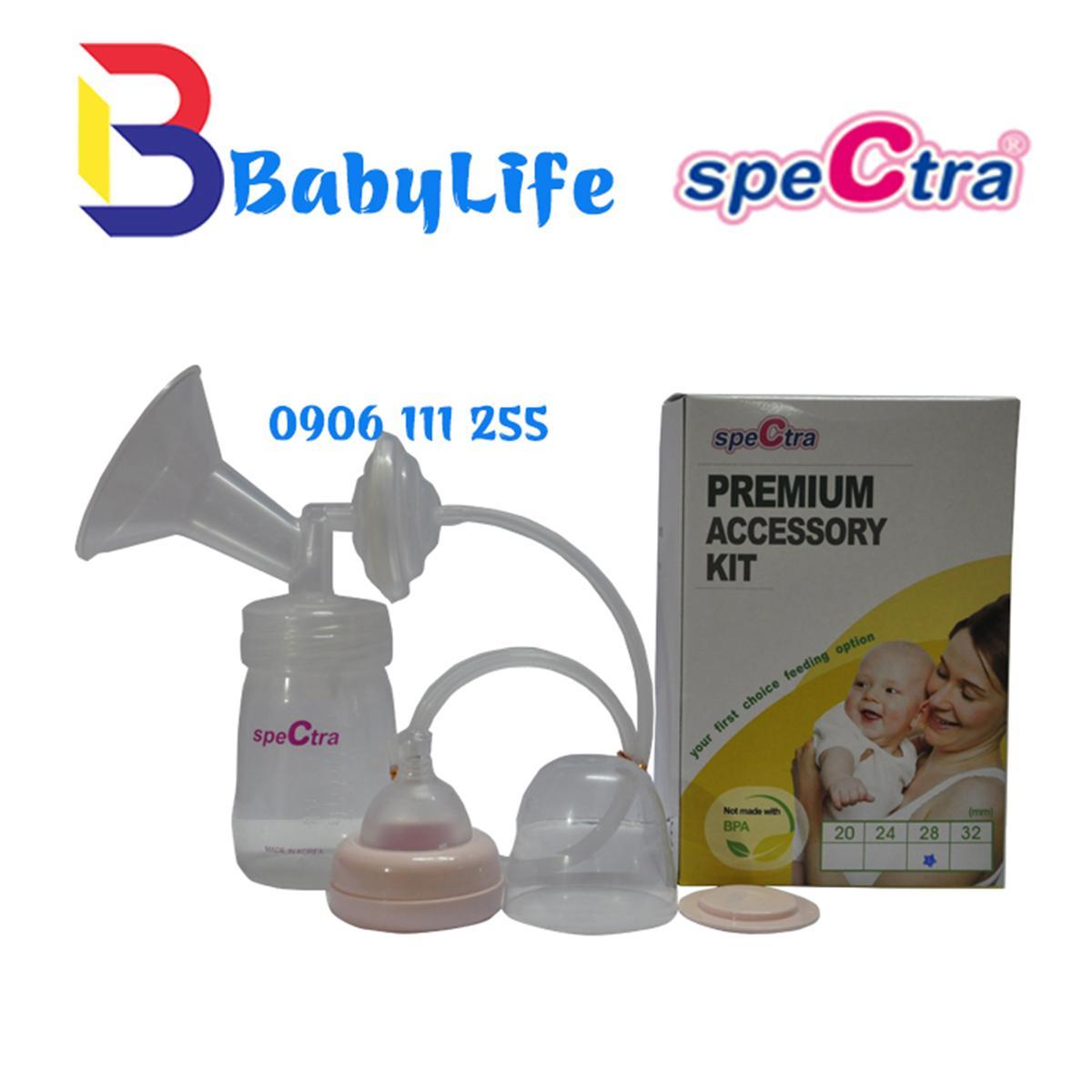 Bộ phụ kiện tiêu chuẩn dành cho máy hút sữa Spectra Q M1 M2 9S 9plus S1 plus S2 plus (size phễu 28mm)