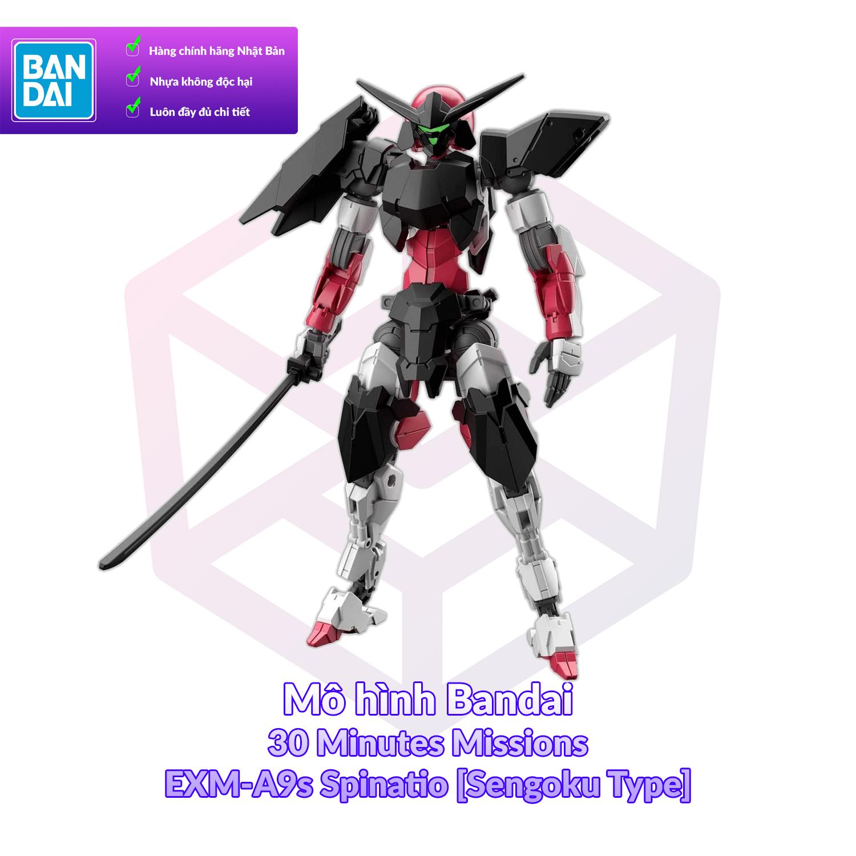 Mô hình Bandai 30MM EXM-A9s Spinatio [Sengoku Type] 1/144 30 Minutes Missions [30MM]
