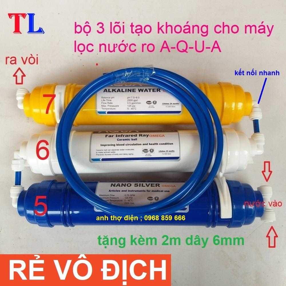 lõi lọc nước AQUA - lõi lọc nước số 567 AQUA - lõi lọc nước tạo khoáng