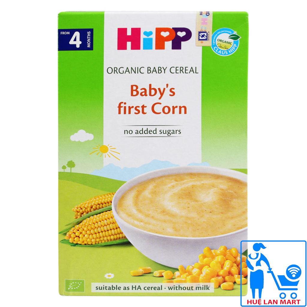 Bột Ăn Dặm Dinh Dưỡng HiPP Babys first Corn (Bột Ngũ Cốc, Bắp Non) Hộp 200g (Cho trẻ từ 4 tháng tuổi)