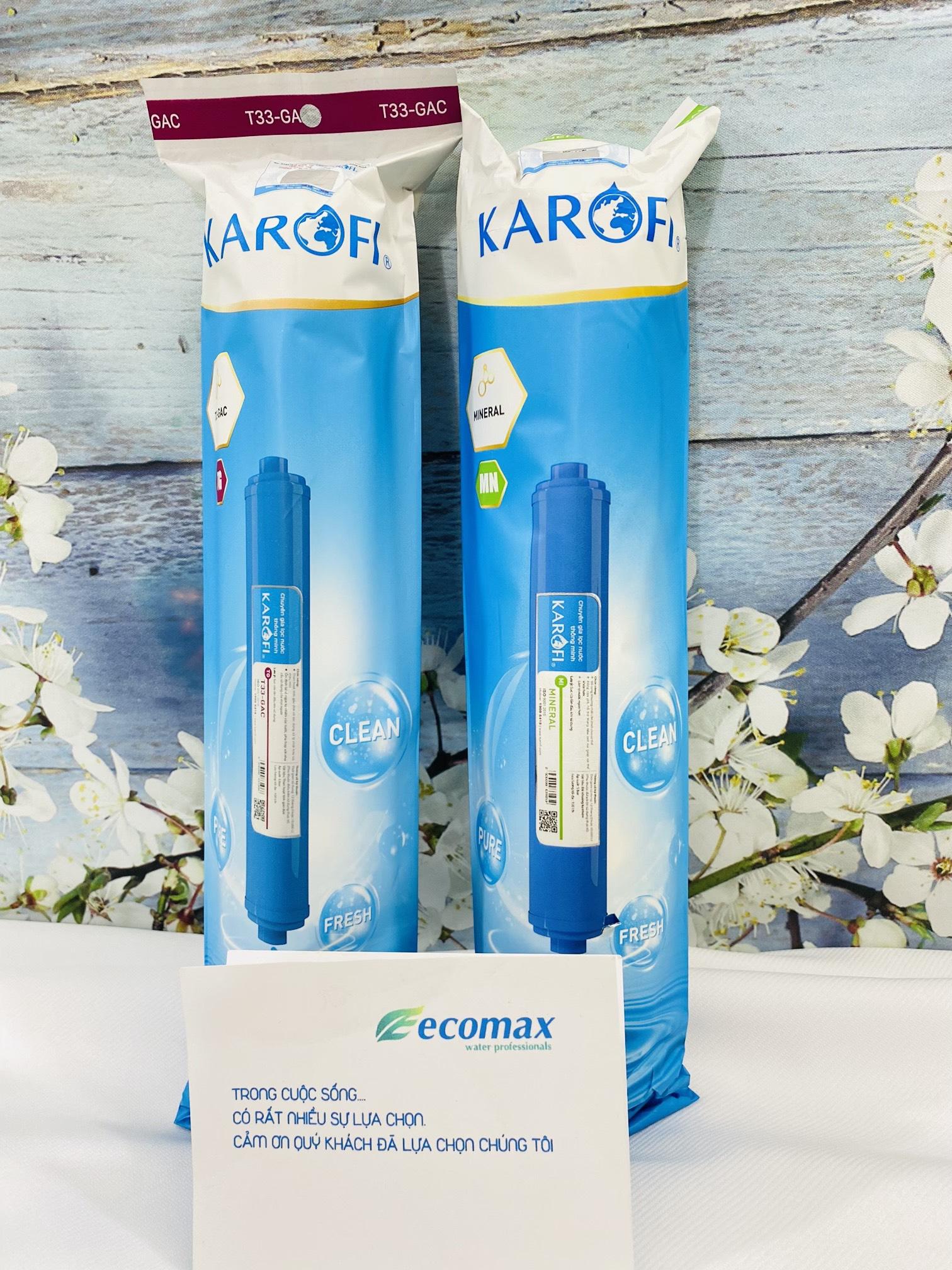 Combo 2 lõi lọc nước 5  6 karofi  lõi lọc nước số 5 karofi  lõi lọc nước số 6 karofi  lõi lọc nước karofi thế hệ mới