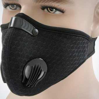 Unisex Helpful Health Cycling Anti-Dust Cotton Mouth FaceRespirator Mask - intl