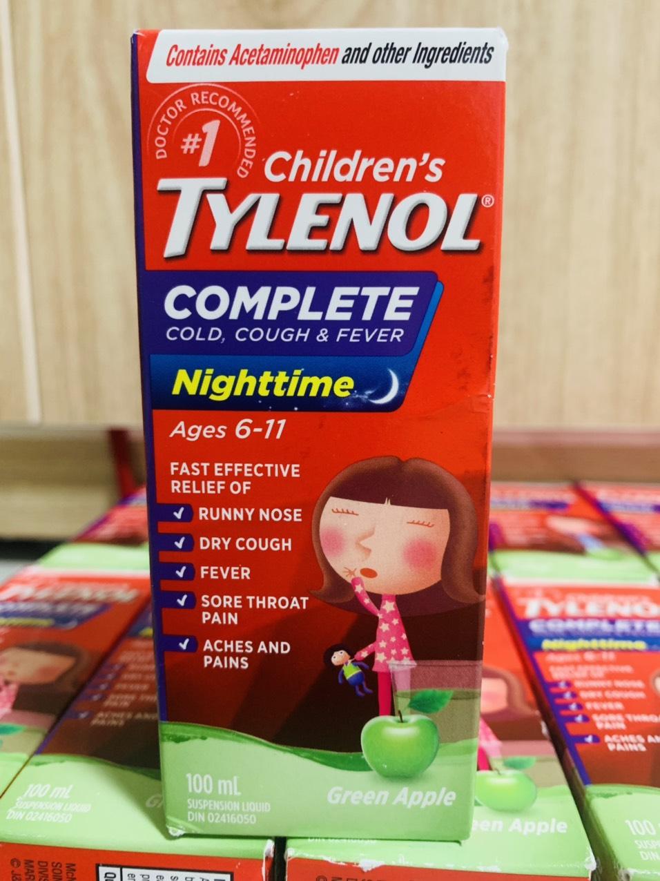 Tylenol_Mỹ cho trẻ em 2-11 tuổi