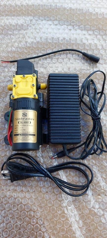 Bơm Sinleader đơn 12v kèm nguồn adapter 12v-5a