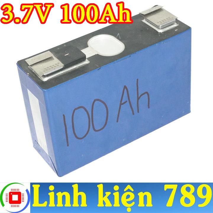Pin Lithium pin phosphate 3.7V 100Ah - Linh Kiện 789