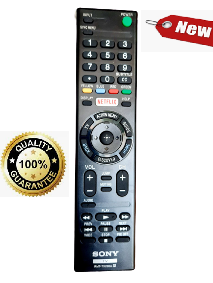 Điều khiển Tivi Sony RMT-TX200U TV Sony 32 40 43 49 50 55 65 inch W X S R LED SMART OLED- Hàng tốt