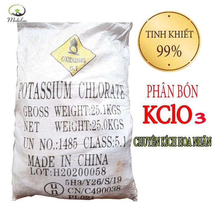 Phân bón KClO3 Xay Mịn 1kg