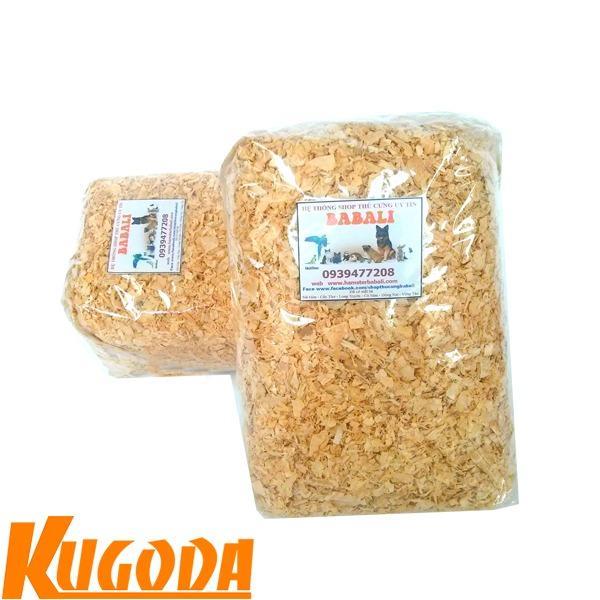 Bộ 2 mùn cưa thơm kugoda lót chuồng cho hamster và nhím - kgd0224