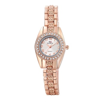 Fashion Women's Leather Watch Quartz Dial Wrist Watch - intl