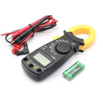Portable LCD Digital Clamp Multimeter AC DC Voltage Electronic Tester Meter