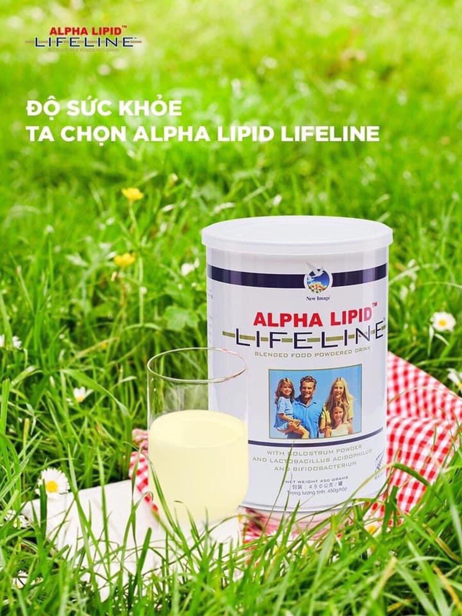 Sữa Non ALPHA LIPID LIFELINE, Sữa Non Chính Hãng,Sữa Non ALPHA LIPID LIFELINE Chính Hãng.