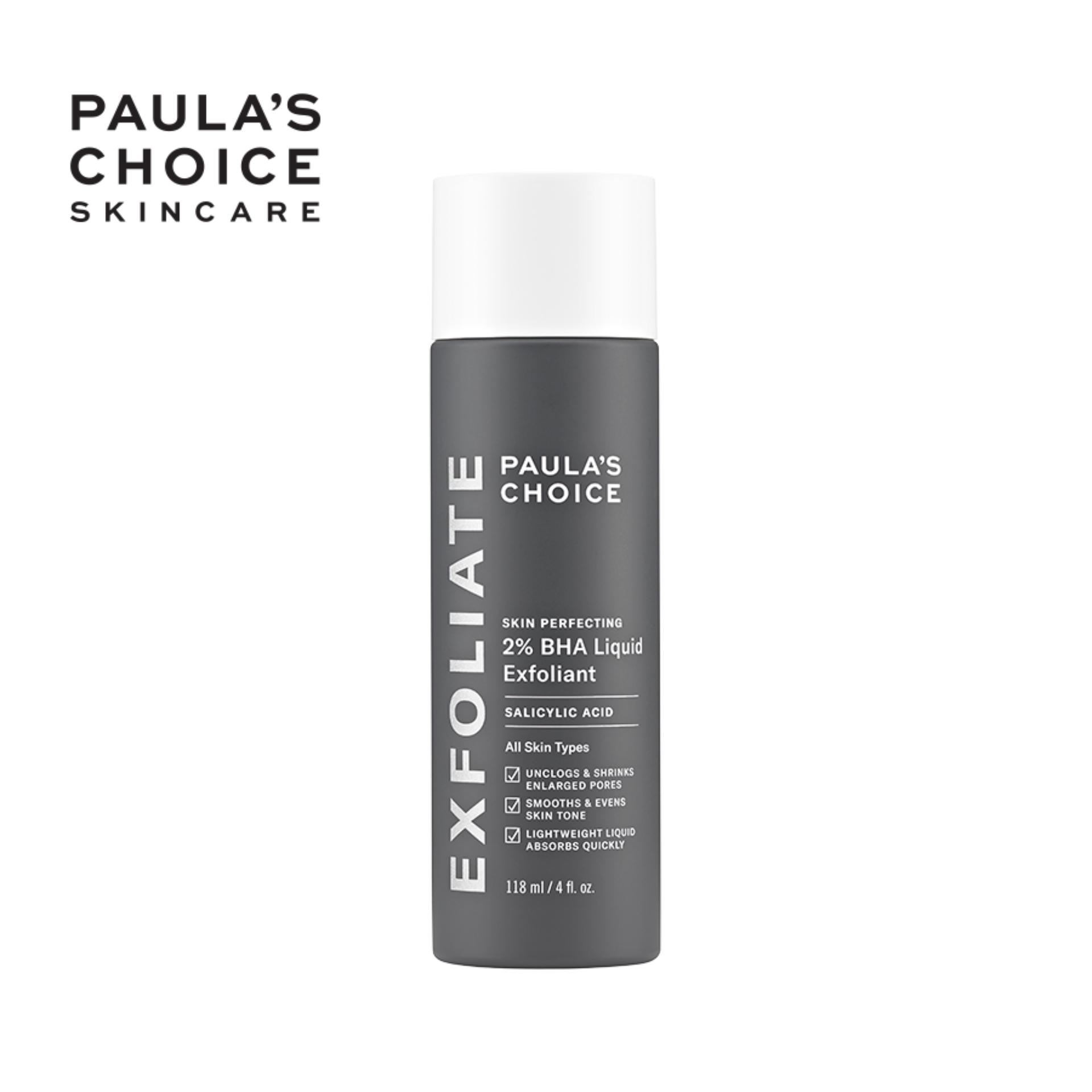 Dung dịch loại bỏ tế bào chết Paula's Choice Skin Perfecting 2% BHA Liquid Exfoliant 118 ml-2010