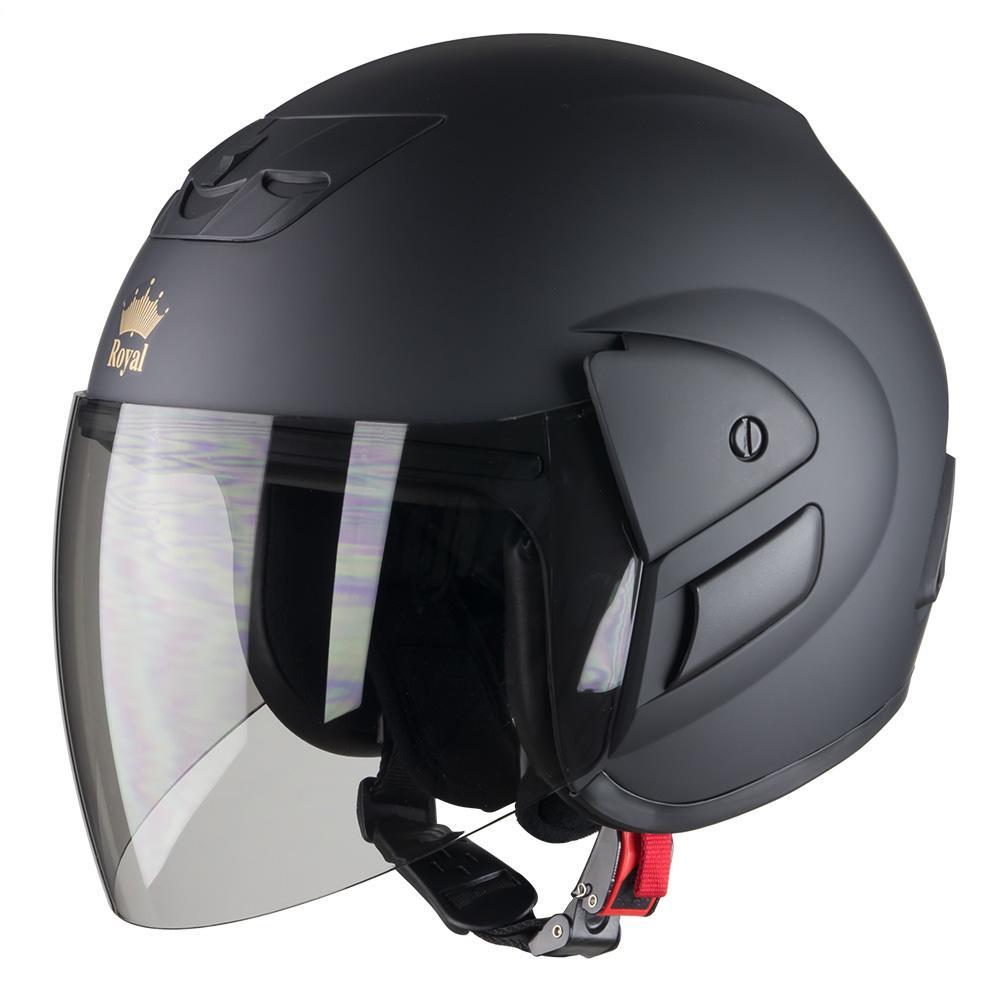 Nón bảo hiểm ROYAL M01 kiểu dáng 3/4 chất liệu cao cấp bền đẹp khóa cài chắc chắn an toàn