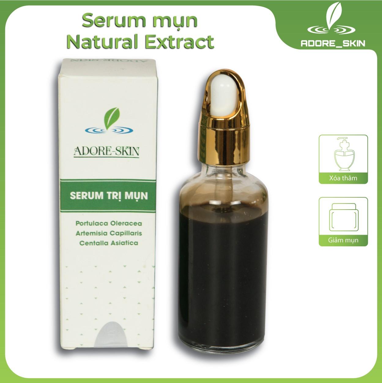 Serum mụn Natural Extract Adore-skin giảm mụn xóa các vết thâm