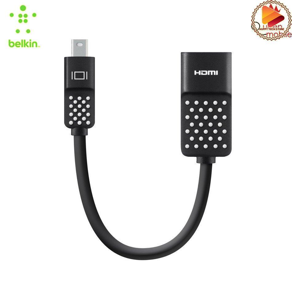 Cáp chuyển Belkin tiện lợi chuyển đổi từ cổng Mini DisplayPort sang cổng HDMI video siêu nét 4K full 3D -  F2CD079bt