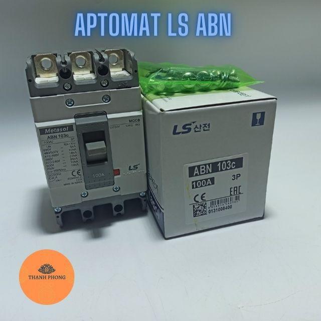 Aptomat LS Át Khối 3 Pha MCCB LS 3P ABN từ 20A đến 100A