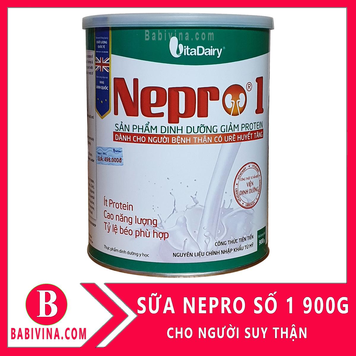 Sữa Bột Nepro 1 900g Dành Cho Bệnh Nhân Suy Thận