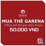 Mã thẻ Game Garena 50.000 - nhận mã qua SMS - siêu nhanh