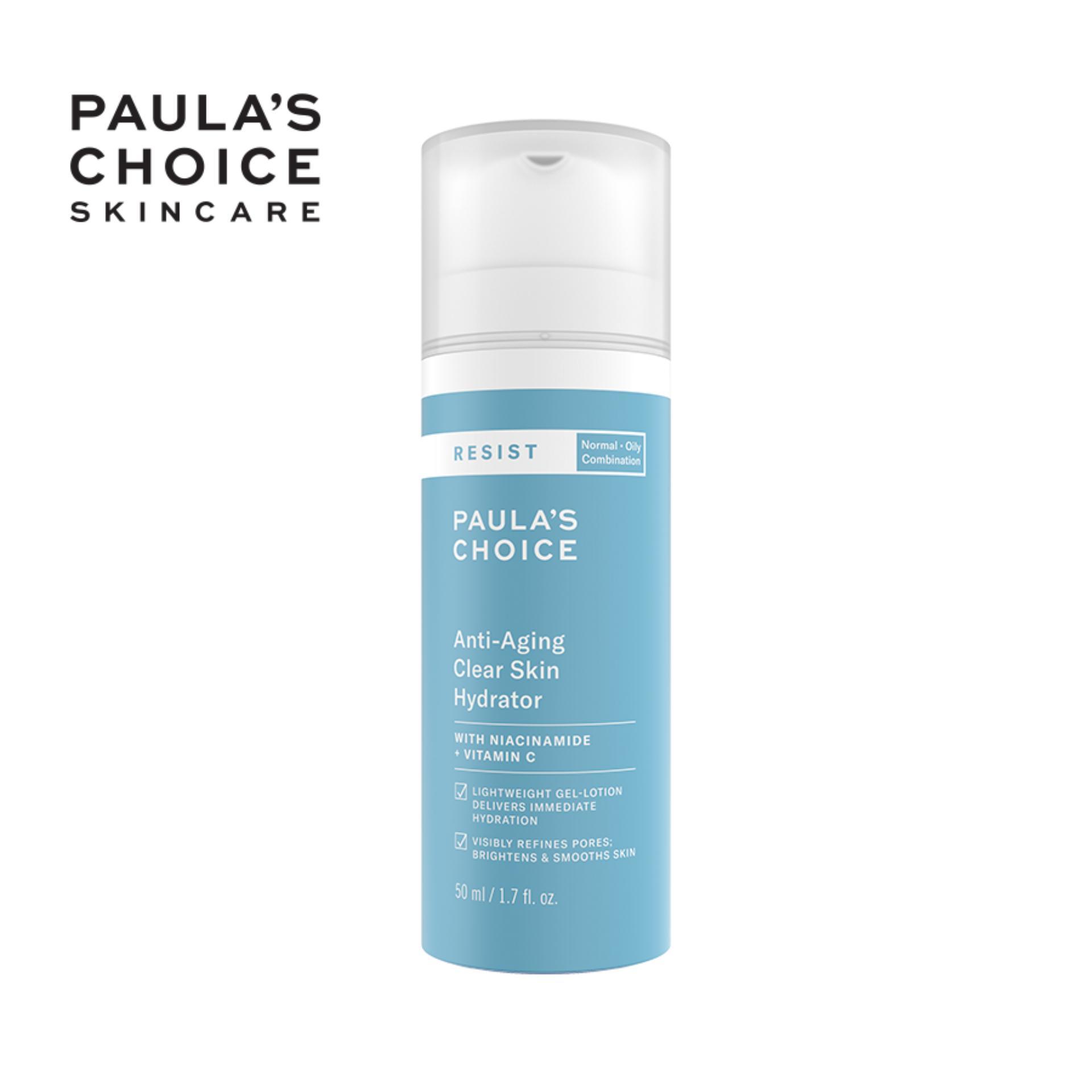 Kem dưỡng ẩm cho da nhạy cảm và lão hóa Paula's Choice Resit Anti-Aging Clear Skin Hydrator 50ml 7691