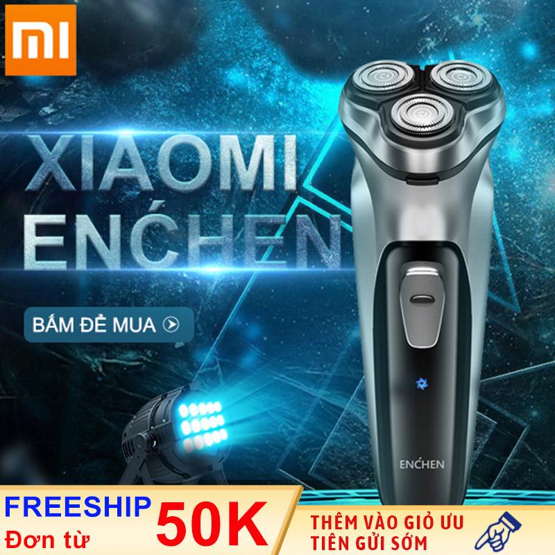 Máy cạo râu Xiaomi ENCHEN BlackStone Màu Bạc Máy cạo râu dành cho nam giới đầu dao nổi 3D có thể rửa nước dao cạo râu điện phiên bản sạc pin thông minh