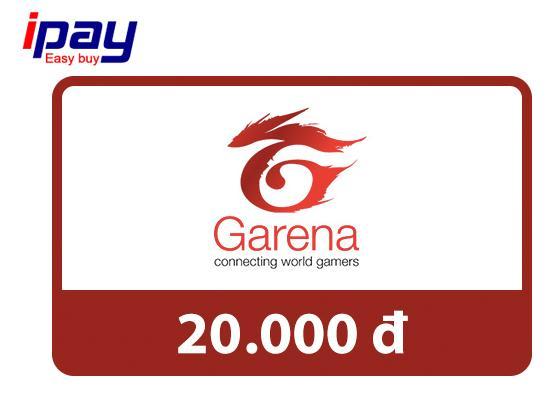 Mã thẻ Game Garena 20.000 - nhận mã qua SMS - siêu nhanh