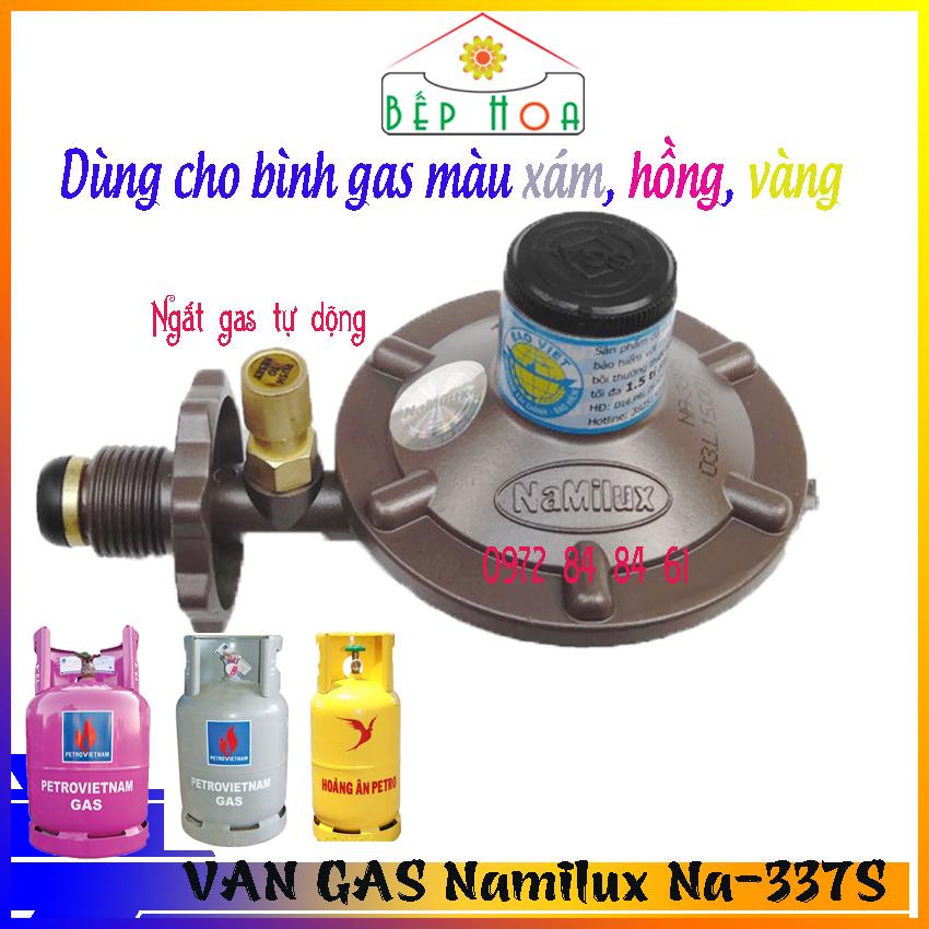 Van gas điều áp ngắt gas tự động Namilux NA-337S - Van ga - Van điều áp - Dùng cho bình gas màu xám - Ngắt gas tự động -An Toàn - Bếp Hoa