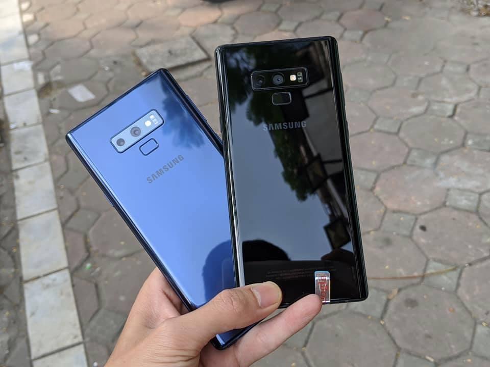 Điện Thoại Samsung Galaxy Note 9 Hàn Quốc 2Sim Chuẩn Zin 100% Với Ram6GB/Rom128GB.Tặng Sạc Cáp Nhanh Chính Hãng, Tai Nghe AKG Và Ốp Lưng.