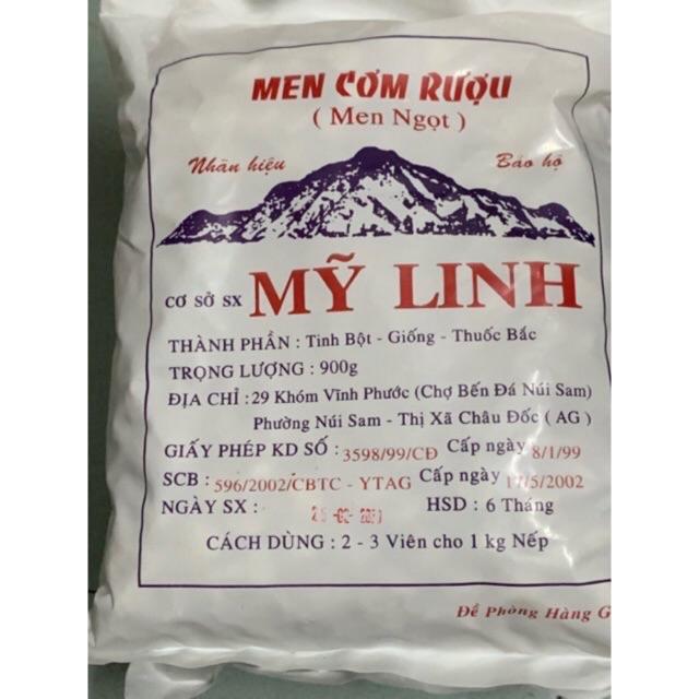 MEN CƠM RƯỢU MỸ LINH 900G (MEN NGỌT)