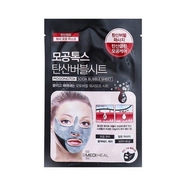 Mặt nạ thải độc bong bóng Mediheal Mogongtox Soda Bubble Sheet 18ml