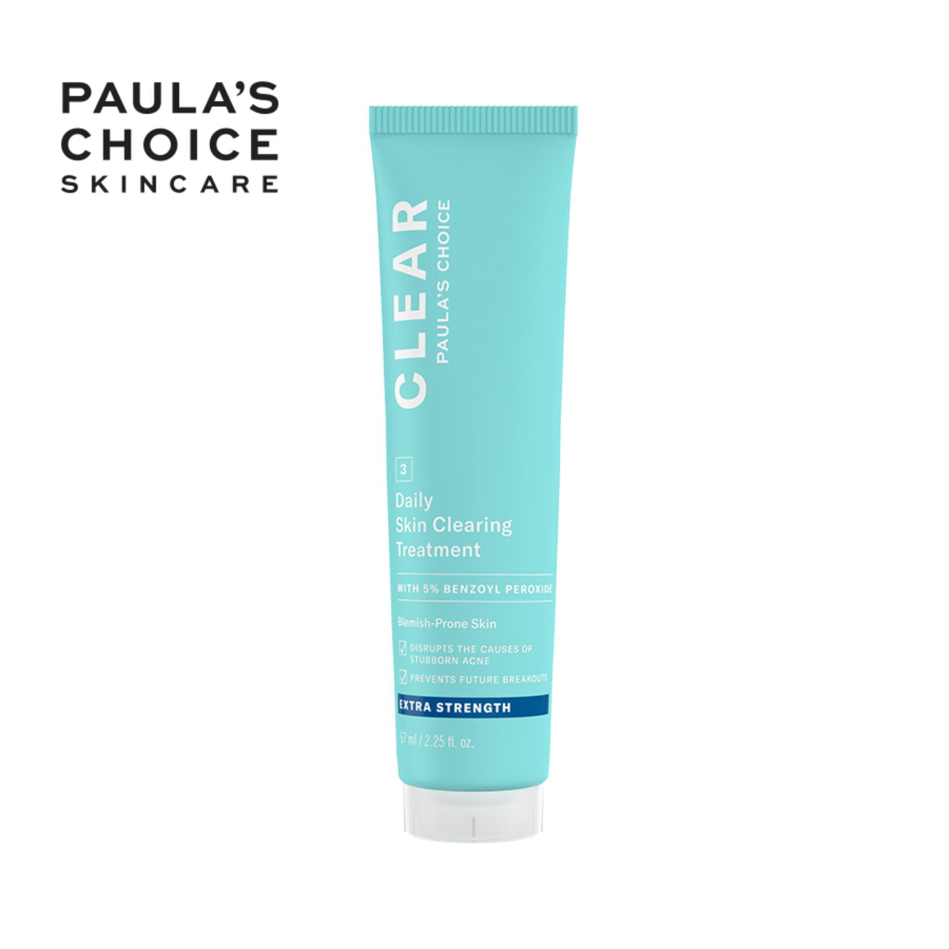Kem giảm mụn sưng viêm chuyên sâu Paula's Choice Clear Extra Strength Daily Skin 60ml 6110
