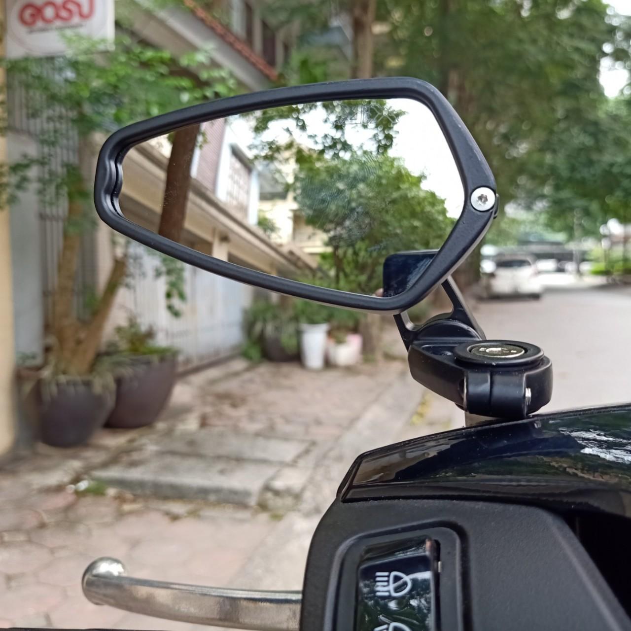 Gương xe máy Sh lắp chân gương gương Thái Lan cao cấp (1 chiếc)