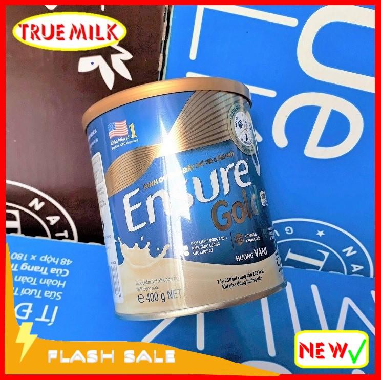 Ensure Gold 400g Vani (Flash Sale) - Ensure Gold - Ensure Huong Vani - Gold 400g - Ensure Vani - Gold vani - Sua ensure - sua bot chinh hang - sua ensure gold hương vani
