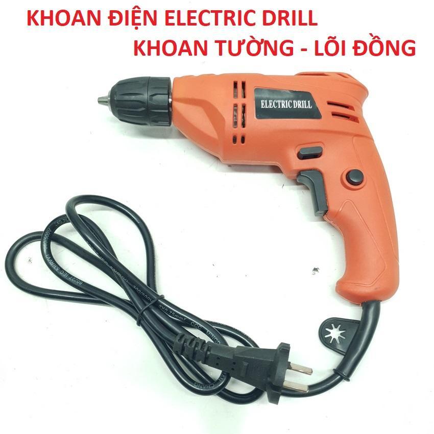 Máy Khoan Điện ELECTRIC DRILL KHOAN TƯỜNG ( Lõi đồng )