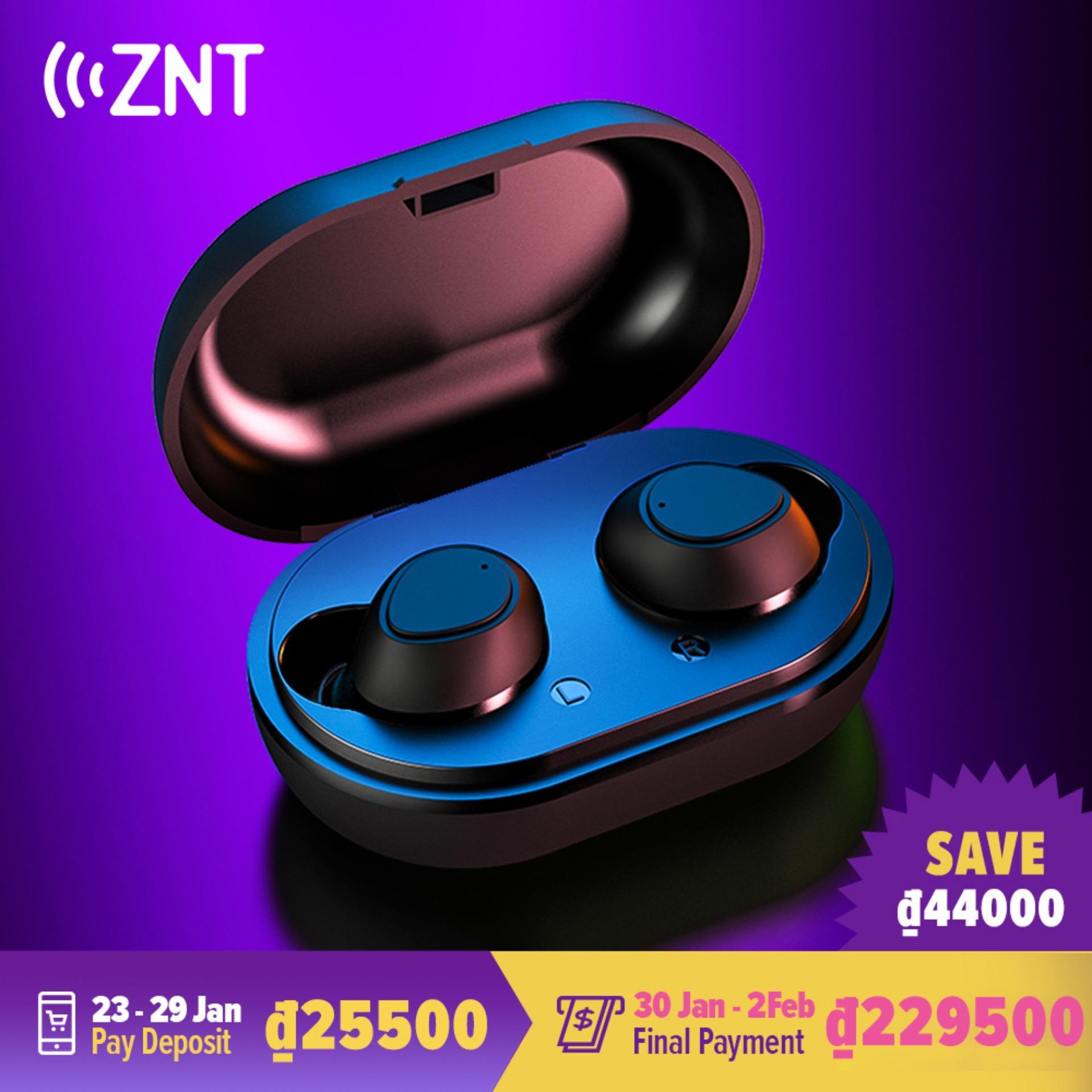 ZNT AirBuds TWS Bluetooth 5.0  Tai nghe không dây   Tai nghe Bluetooth  Tai nghe dùng cho cả  hai tai có micrô tích hợp