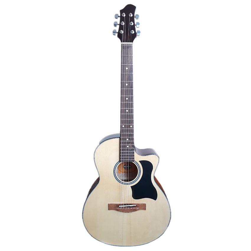 [ Flash sale ] Đàn guitar Acoustic DVE70 (màu gỗ) - Đàn ghi-ta đệm hát Duy Guitar Store - Shop đàn guitar đệm hát giá tốt dành cho người mới tập - Uy tín