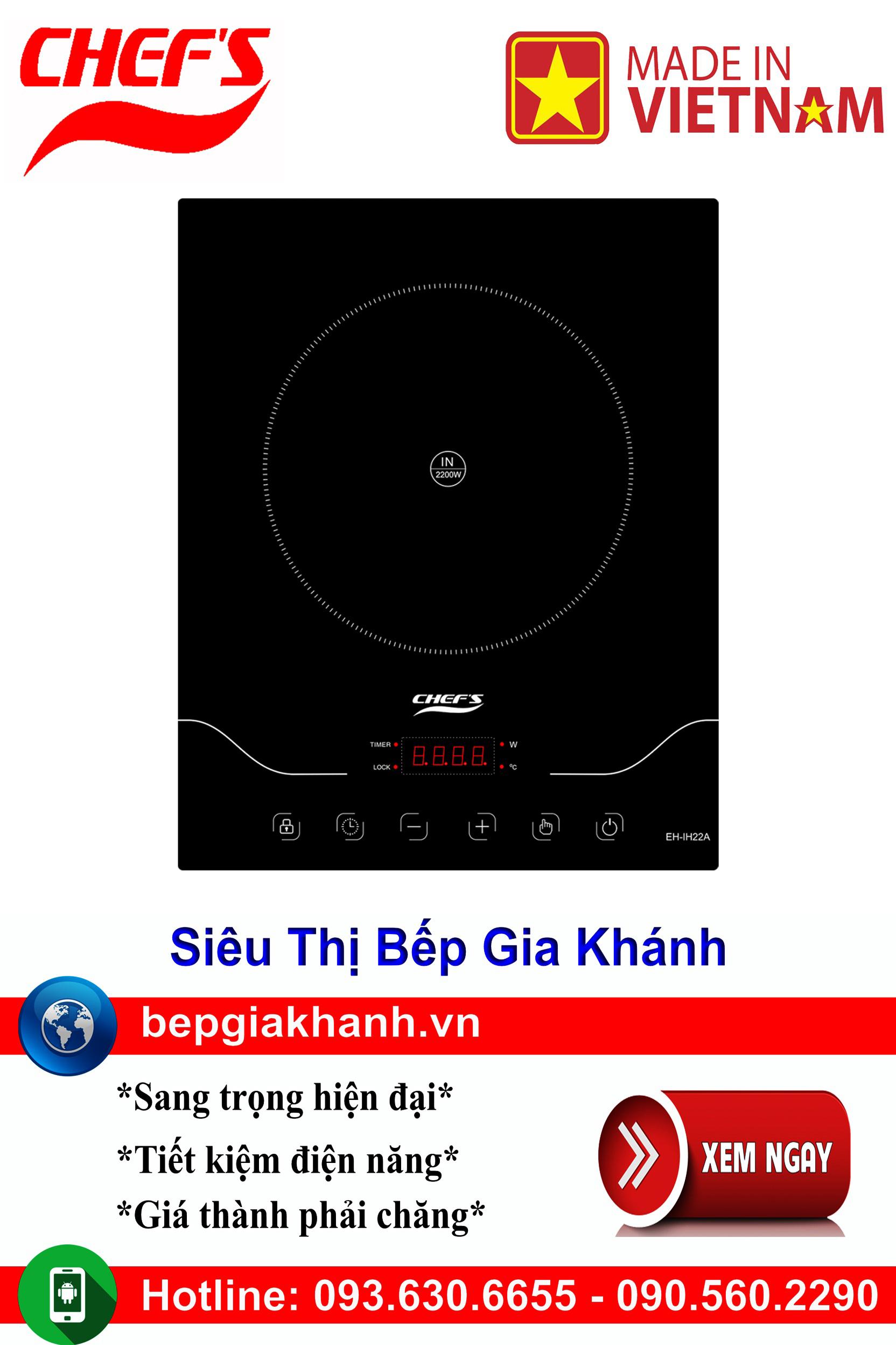 [HCM]Bếp từ đơn Chefs EH IH22A lắp ráp Việt Nam bếp từ bếp điện từ bếp từ đôi bếp điện từ đôi bếp từ giá rẻ bếp điện từ giá rẻ bếp từ đơn bep tu don bep tu
