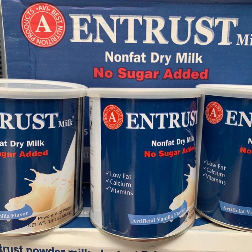 Sữa Entrust (Ensure cho người tiểu đường)