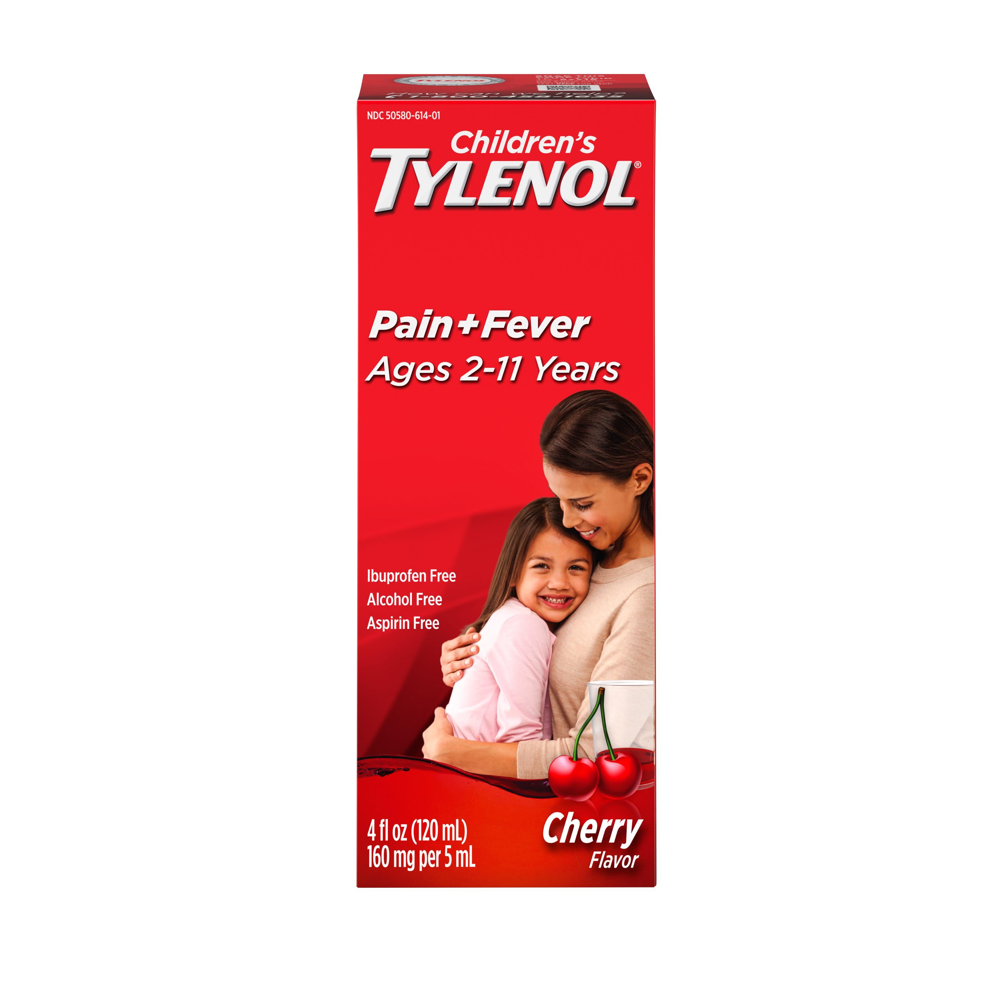 Siro Tylenol giúp giảm Cảm lạnh, Cảm cúm cho trẻ 2-11 tuổi