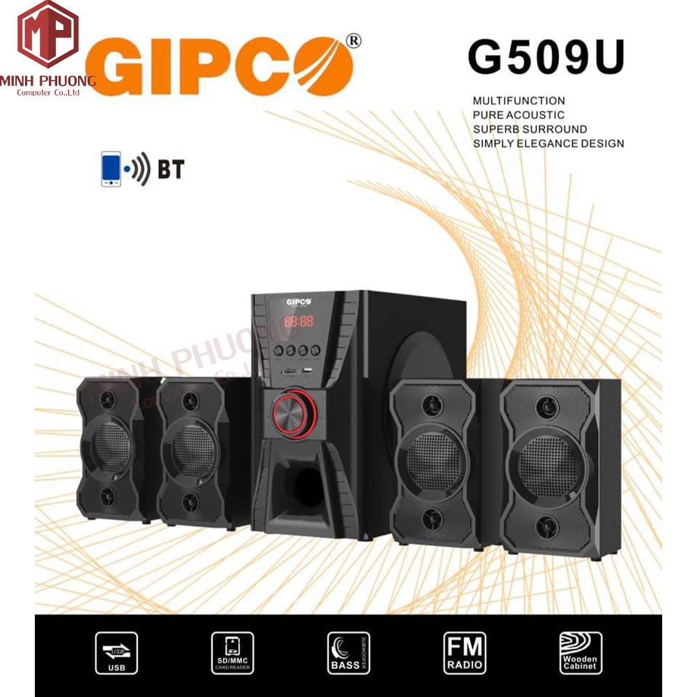 Loa vi tính GIPCO G509U Hi-fi (4.1)