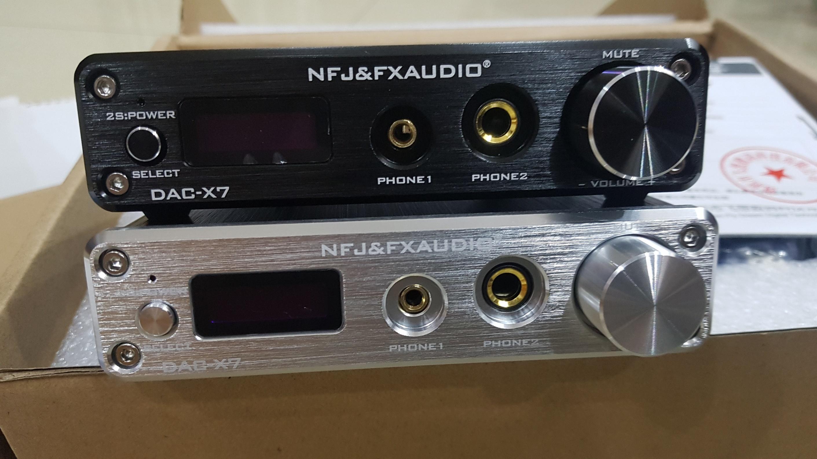 Bộ giải mã cao cấp FX-AUDIO DAC X7 32Bit/384khz DSD