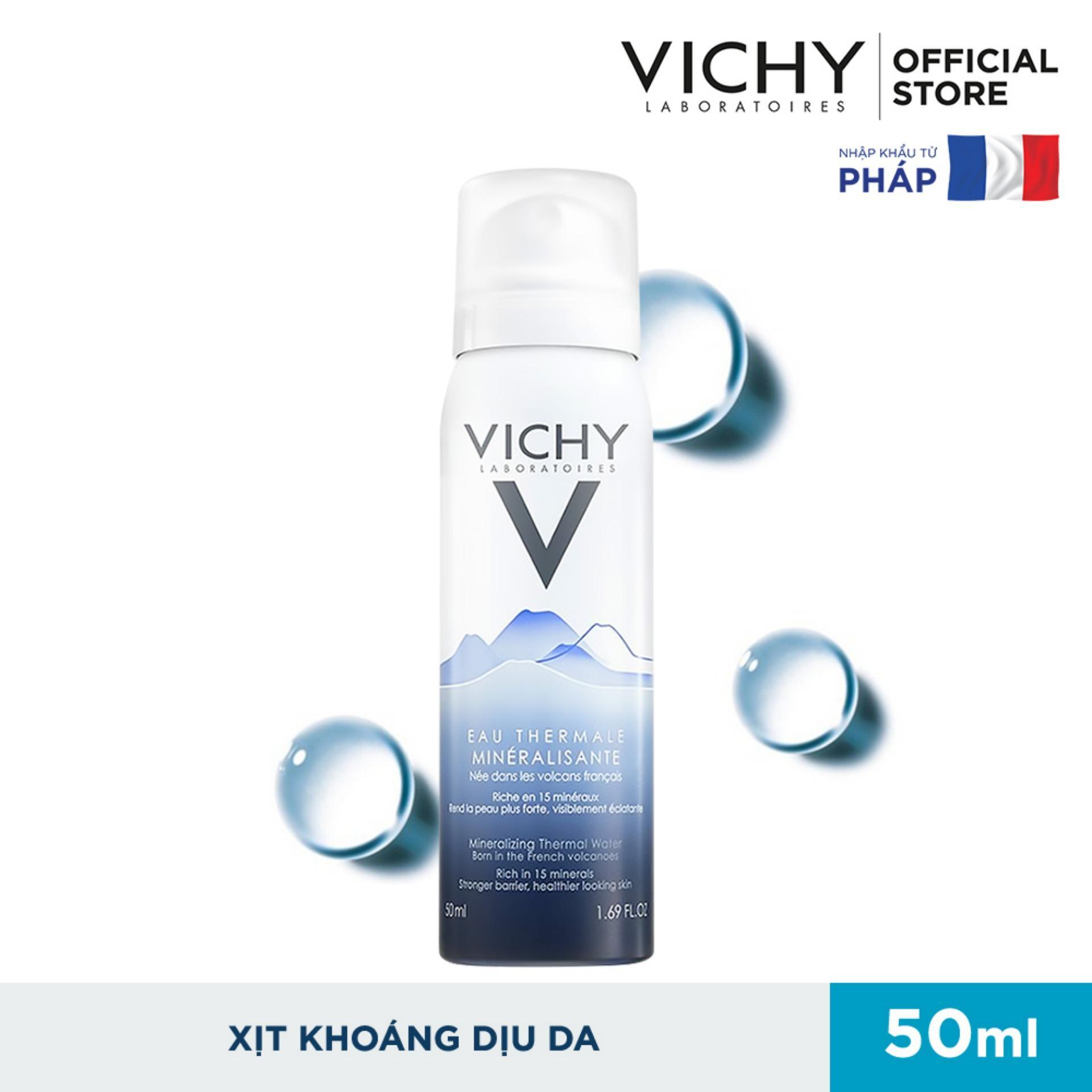 Xịt khoáng dưỡng da Vichy Mineralizing Thermal Water 50ml