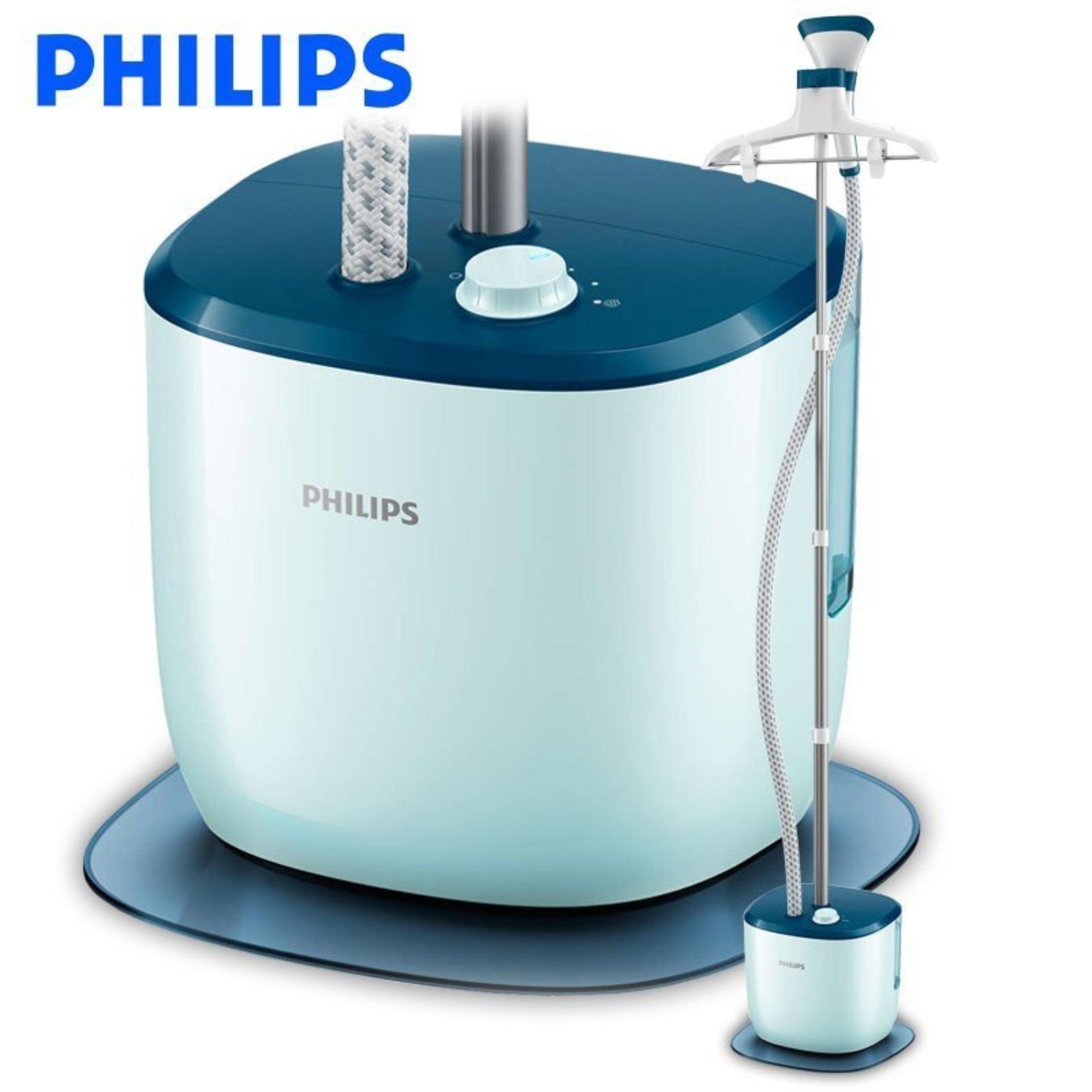 Bàn ủi hơi nước đứng Philips GC516 (Xanh phối trắng ) - Tương đương GC518