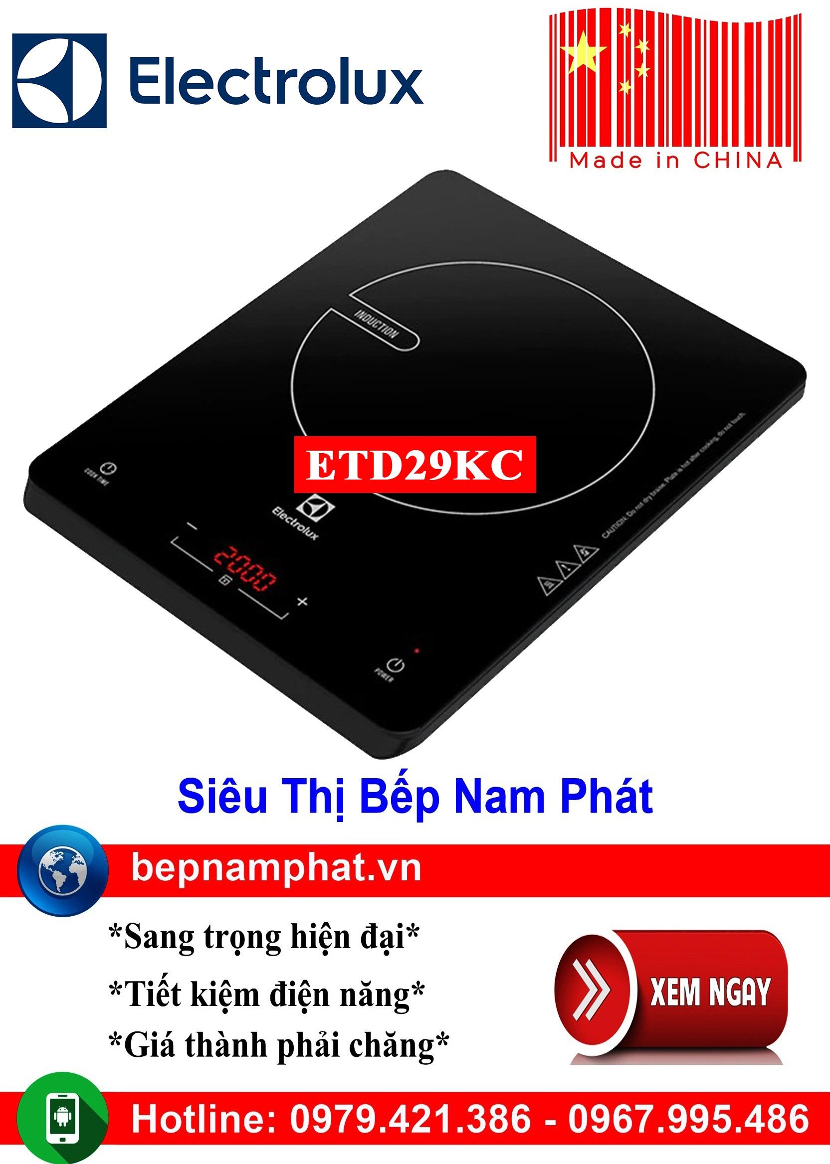 Bếp từ đơn Electrolux ETD29KC sản xuất Trung Quốc bếp từ bếp điện từ bếp từ đôi bếp điện từ đôi bếp từ giá rẻ bếp điện từ giá rẻ bếp từ đơn bep tu don bep tu