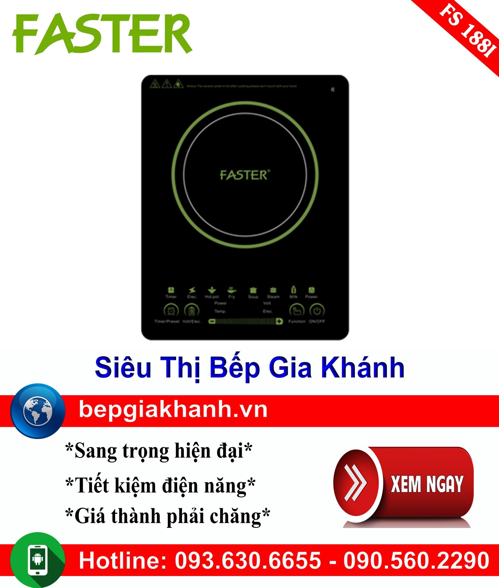 [HCM]Bếp từ đơn Faster FS 188I bếp từ bếp điện từ bếp từ đôi bếp điện từ đôi bếp từ giá rẻ bếp điện từ giá rẻ bếp từ đơn bep tu don bep tu