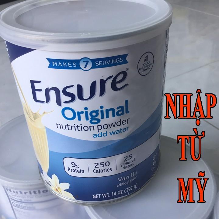 [HCM]Ensure - Thức uống dinh dưỡng của Mỹ ensure