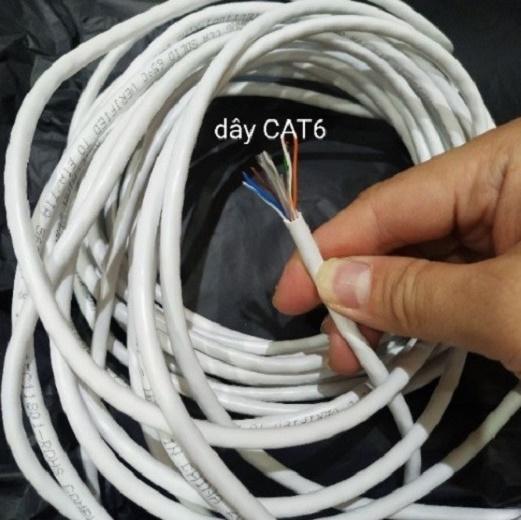✅ Dây mạng Cat6 Hàng Chuẩn Chính Hãng GIPCO bấm sẵn 2 đầu LAN internet ( 1m 2m 3 m 4m 5m ) - HÀNG CHÍNH HÃNG