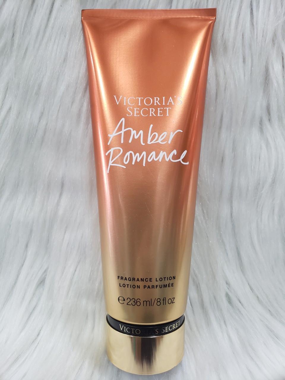[HCM]Sữa dưỡng thể Victoria's Secret Amber Romance Fragrance Lotion 236ml - [MỸ]