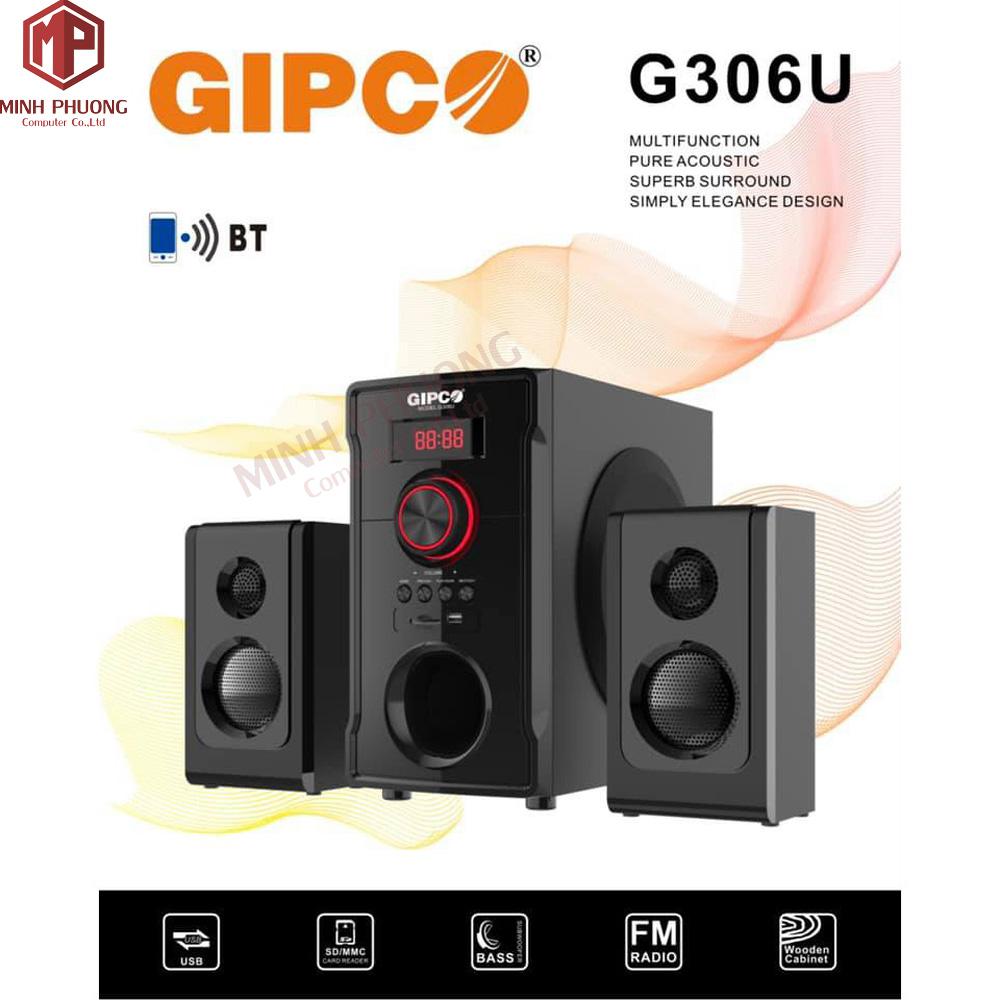 Loa vi tính GIPCO G306U Hi-fi ( 2.1)