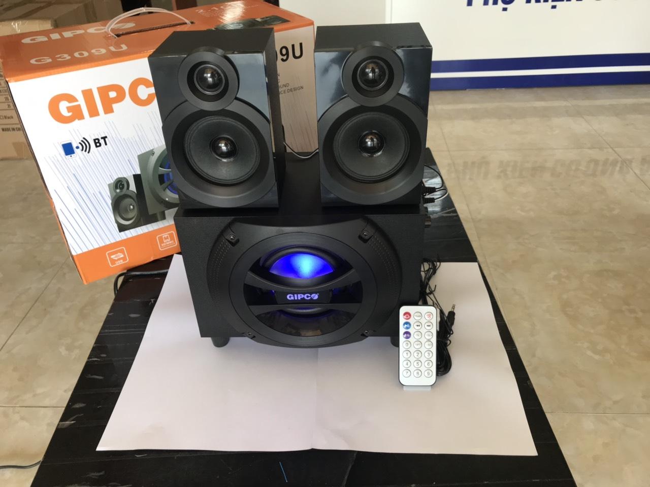 Loa vi tính Gipco G 309 – có bluetooth - Hàng chính  hãng - Bảo hành 12 tháng - xả hàng