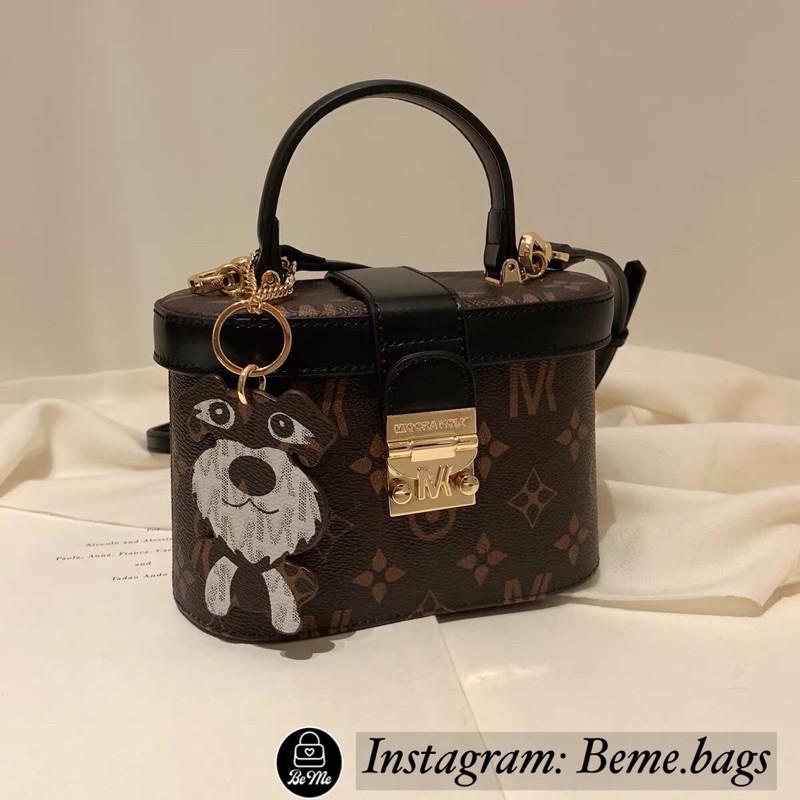Túi xách nữ túi hộp Miocra Koly kèm charm cực xinh